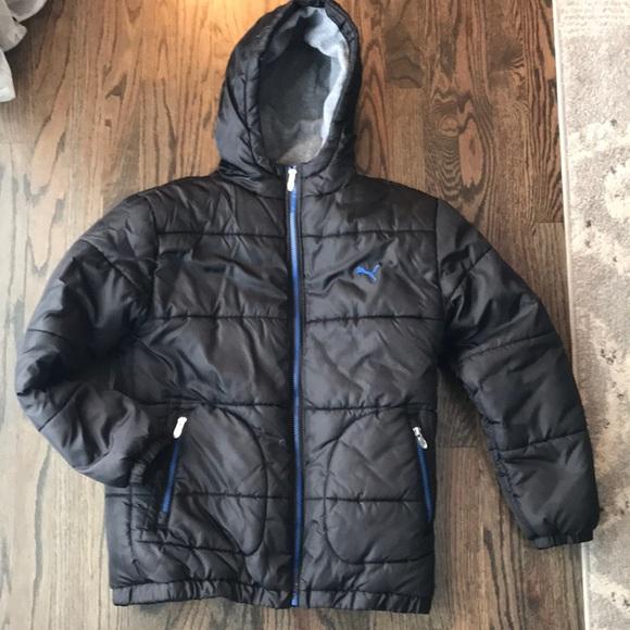 9c28ad1047bf Boys large Puma winter coat. M 5c438cec04e33d487f60b69a